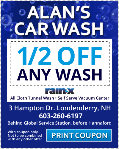 car wash coupon template - alan 39 s car wash ford of londonderry