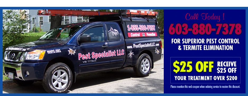 Pest Control Burlington MA