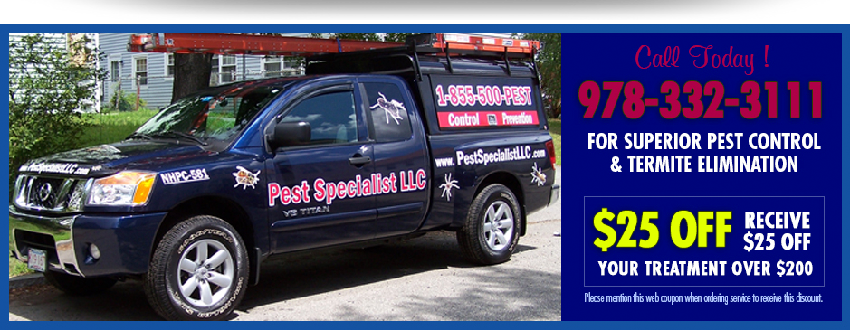 Pest Control Goffstown NH