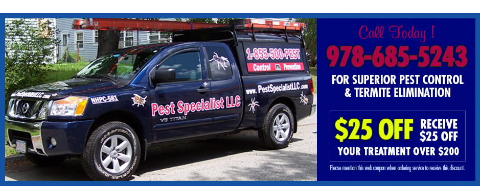 Pest Control North Andover MA