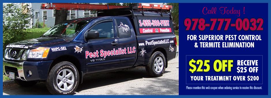 Pest Service Trucks